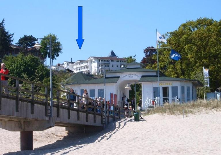 Fewo v Strand mit Markierung Internetplakat